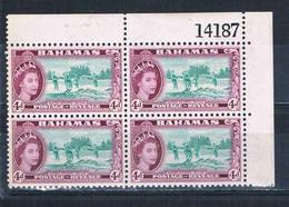 Bahamas 163 MNH Blk 4 Water Skiing 1954 (B0439) - Unclassified