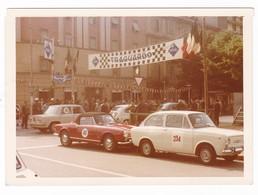 AUTOMOBILE - ALFA ROMEO GIULIETTA SPIDER - FIAT 850 -  CAR  - FOTO ORIGINALE - Cars