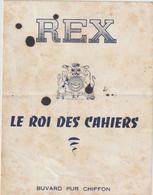 Buvard Pur Chiffon  REX  -Le Roi Des Cahiers - Carte Assorbenti