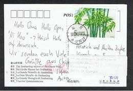 CINA:  2006  CARTOLINA  ILLUSTRATA  CON  AFFRANCATURA  SINGOLA  IN  TARIFFA  PER  LA  GERMANIA - 1949 - ... Volksrepubliek