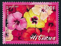POLYNESIE 2007 - Yv. 821 **   Faciale= 0,84 EUR - Fleurs D'hibiscus  ..Réf.POL24231 - Französisch-Polynesien