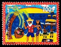 POLYNESIE 2007 - Yv. 823 **   Faciale= 0,84 EUR - Père Noël Polynésien  ..Réf.POL24232 - Französisch-Polynesien