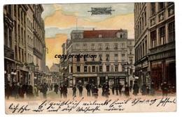 Stettin, Kohlmarkt, Alte Ansichtskarte 1906 - Polen
