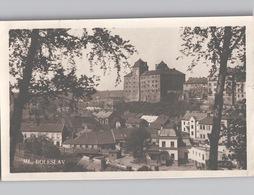 ML. BOLESLAW Photocard Panorama Sent 1930 BOXED Postmark - Tschechische Republik