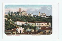 CONEGLIANO:  UN  SALUTO  DA ... -  VEDUTA  DEL  CASTELLO  -  FP - Treviso