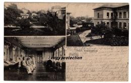 Stettin, Städt. Krankenhaus, Alte Ansichtskarte 1909 - Poland