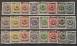 Memel - Occupation - Lituanienne  _1923 - Série N°  185 /208 - Memel (Klaïpeda)