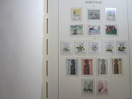 Faroe Islands 1979 -80 ,  Facit 44-60  MNH (Complete Sets) (Box 1 - 4) - Féroé (Iles)