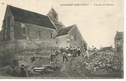 Co21/     51   Jonchery Sur Vesle   Travaux Du Square     (animations) - Jonchery-sur-Vesle