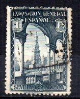 Sello  Nº 444  España - 1889-1931 Reino: Alfonso XIII