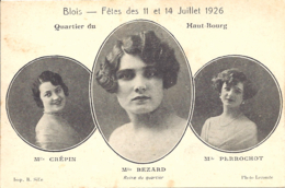 Blois, Fetes Des 11 Et 14 Juillet 1926, Quartier Du Haut Bourg - Blois