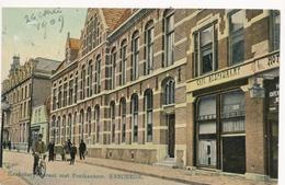 CPA - Pays-Bas - Enschede - Hanksbergerstraat Met Postkantor - Enschede