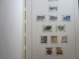 Faroe Islands 1981 ,  Facit 61-71  MNH (Complete Sets) (Box 1 - 5) - Féroé (Iles)