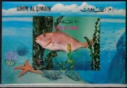 Umm Al-Qaiwain MiNr. Bl. 57 ** Fische - Briefmarken