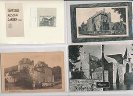 29/789 -- RAEREN Cantons De L'Est - Burg Et Topfereimuseum - Ensemble De 39 Cartes- Vues , N§B Et Couleur - Raeren