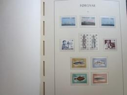 Faroe Islands 1983 ,  Facit 81-91  MNH (Complete Sets) (Box 1 - 7) - Féroé (Iles)