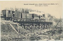 68-357 Россия Russia Russland Siberia Railway Bridge Over Soldatka River Nr 1 - Russia