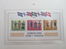 Faroe Islands 1983 ,  Block 1 (92-94)  MNH (Complete Sets) (Box 1 - 8) - Féroé (Iles)