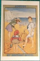 Sand Castles, The Nostalgia Postcard Collector's Club, Yesterday's Britain 1890's - 1950's - Humorous Cards