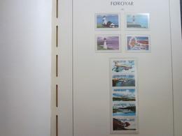 Faroe Islands 1985 ,  Facit 123 - 131  MNH (Complete Sets) (Box 1 - 12) - Féroé (Iles)