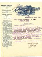29/793 -- RAEREN Cantons De L'Est - Facture 1938 Marbreries D' HERGENRATH , Usine De RAEREN - TB Etat - Belgique