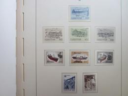 Faroe Islands 1987 ,  Facit 147 - 155 (Complete Sets) (Box 1 - 15) - Féroé (Iles)