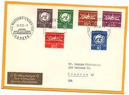 Switzerland 1955 FDC - Officials
