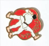 Pin's PAU (64) - DOJO PALLOIS - Les Judokas - I441 - Judo