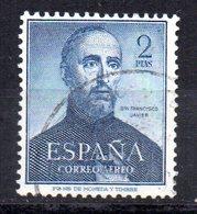 Sello  Nº 1118  España - 1951-60 Usados