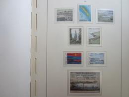 Faroe Islands 1987 ,  Facit 156 - 163  (Complete Sets) (Box 1 - 16) - Féroé (Iles)