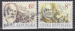 Czech Republic - Tcheque 2003 Yvert 322/ 23, Characters - Jaroslav Vrchlicky & Josef Thomayer - MNH - Czech Republic