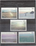 VV16 - AAT Poste 74/78** MNH De 1987 - Vues Du Territoire - - Unused Stamps