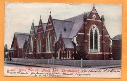 Christchurch New Zealand 1905 Postcard Mailed - New Zealand