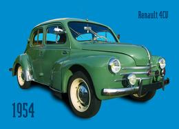 Renault 4 CV - Voitures De Tourisme