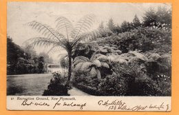 New Plymouth New Zealand 1905 Postcard Mailed - New Zealand