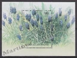 Azerbaidjan - Azerbaijan - Azerbaycan 1993 Yvert BF 2, Flora, Flowers - MNH - Azerbaïjan