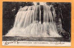 Lake Waikaremoana New Zealand 1905 Postcard Mailed - New Zealand