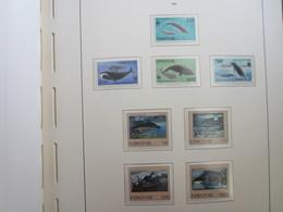 Faroe Islands 1990 ,  Facit 205 - 212  (Complete Sets) (Box 1 - 21) - Féroé (Iles)