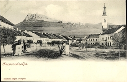 Cp Szepesváralja Spišské Podhradie, Kirche, Totalansicht - Slovaquie