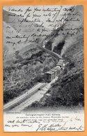 Wellington Napler Railroad New Zealand 1905 Postcard Mailed - New Zealand