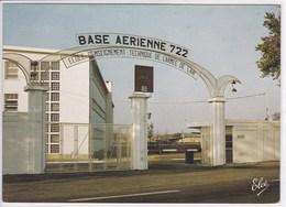 17 SAINTES Entrée De La Base De L'armée De L'air 1982 - Saintes