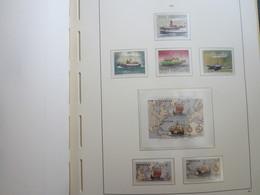Faroe Islands 1992 ,  Facit 229 - 234 + Block 5  (Complete Sets) (Box 1 - 24) - Féroé (Iles)