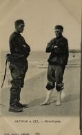 NL Klederdracht - Volkstype // Katwijk Strand Types  Ca 1899 Lijkt Aangesneden, Gewoon In Deze Periode - Katwijk (aan Zee)