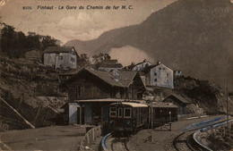 FINHAUT - La Gare Du Chemin De Fer - En L'état - VS Wallis