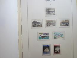 Faroe Islands 1992 ,  Facit 235 - 242   (Complete Sets) (Box 1 - 25) - Féroé (Iles)