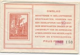 Nederland - 1926 - 10 Op 12,5+5 Cent , Geillustreerde Briefkaart G214 - Set In Originele Omslag - Ongebruikt - As Issued - Entiers Postaux