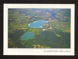 Clairvaux Les Lacs (39) : Vue Générale Aérienne. Le Grand Lac Et Le Petit Lac - Clairvaux Les Lacs