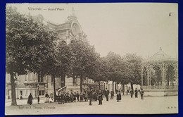 1 CPA 1907 Vilvoorde - Vilvorde - Grand'Place Et Kiosque - Animée - H.D.G. - Vilvoorde
