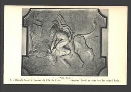 Hercules Doodt De Stier Van Het Eiland Kreta - Uitgave Kasteel Van Beaulieu, Machelen - Sculptures