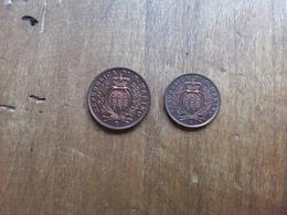 SAN MARINO - 10 Cent. 1937 + 5 Cent. 1936 F.D.C. + Spedizione Prioritaria - San Marino